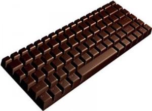 čokoladna tipkovnica